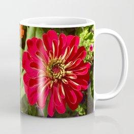 Red Zinnia Coffee Mug