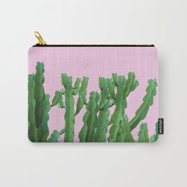 Pink Italian Cactus Carry-All Pouch