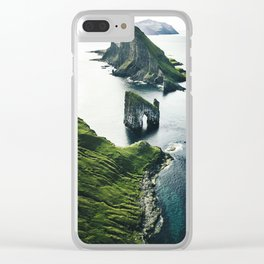 faroe islands Clear iPhone Case