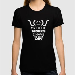 My code works i have no idea why T-shirt