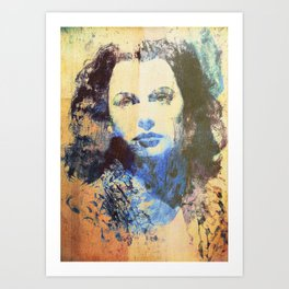Divas - Hedy Lamarr Art Print