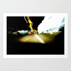 Drive by WIPjenni Art Print