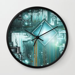 TRON the next generation Wall Clock