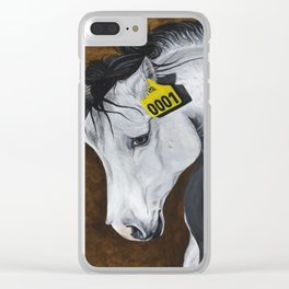 Unicorn: How Far Would We Go? Clear iPhone Case