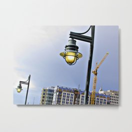 Light Along the Riverway Metal Print