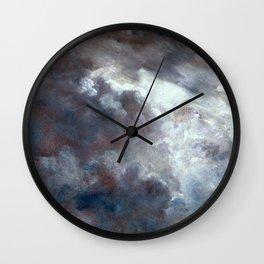 """John Constable """"A Cloud Study"""" 10. Wall Clock"""