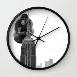 King Kong on the Empire State Building Wall Clock