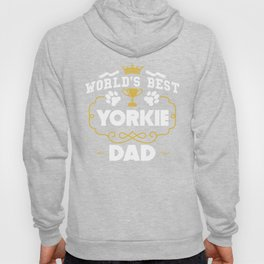 World's Best Yorkie Dad Hoody