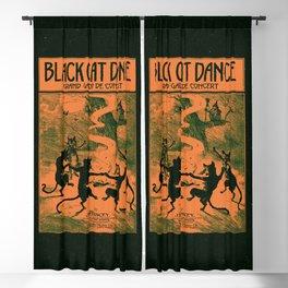 Black Cat Dance (1916) Blackout Curtain