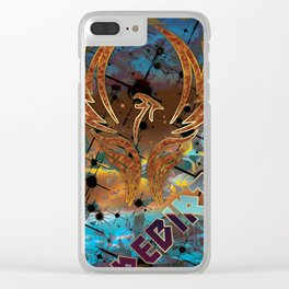Rebirth of the Phoenix Clear iPhone Case