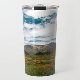 Colored Peaks Travel Mug