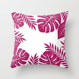 Paradise in Wine Throw Pillow