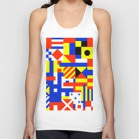 sail Tank Tops featuring Sail by Jan Luzar