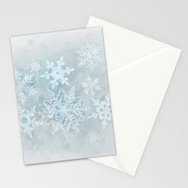 Snow is coming Stationery Cards
