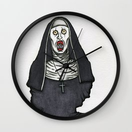 The Nun Wall Clock