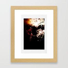Laure eyes Framed Art Print