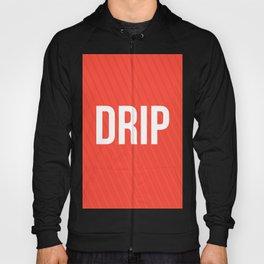 Drip Red Design Hoody