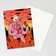 Alien Invader Stationery Cards