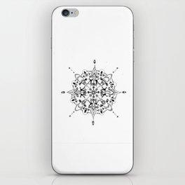 Mandala #9 iPhone Skin