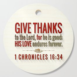 Give Thanks Cutting Board