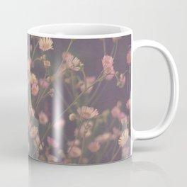 Vintage Asters Daisies Fleabane Wildflowers Coffee Mug
