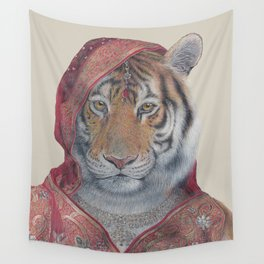 Indian Tiger Wall Tapestry