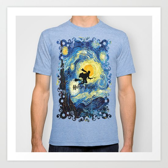 Young wizzard abstract art painting iPhone 4 4s 5 5c, ipod, ipad, pillow case, tshirt and mugs Art Print
