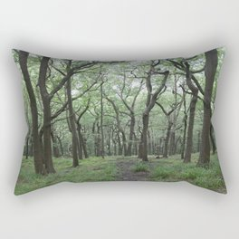The Twisted Wood Rectangular Pillow
