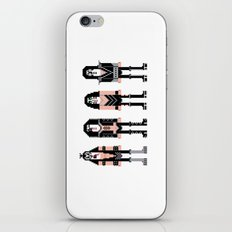 Pixel Kiss Rock Band iPhone & iPod Skin