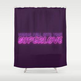 SuperLove / Charli XCX Shower Curtain