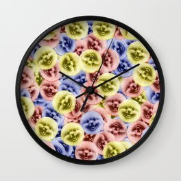 Bouncy Bouncy Pommy Pommy Wall Clock