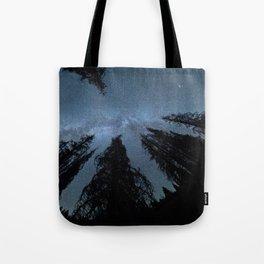 Celestial Starlight In The Forest Near Lake Irene Colorado Tote Bag