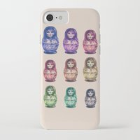 russia iPhone & iPod Cases featuring Russia by Galvanise The Dog
