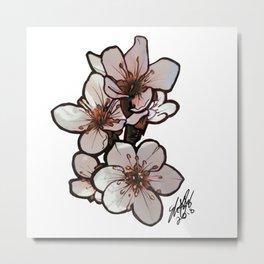 Cherry Plum Metal Print