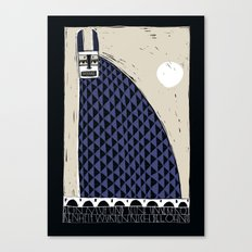Hase & Mond Canvas Print