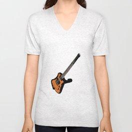 Guitar Unisex V-Neck