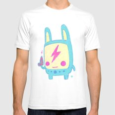 Baby Lemi the Space Wanderer Mens Fitted Tee White MEDIUM