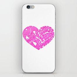 On Wednesdays We Wear Pink iPhone Skin