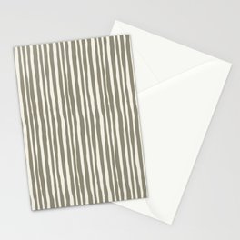 Abstract wavy lines Stationery Cards