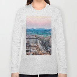 Sunset in the Lost World Long Sleeve T-shirt