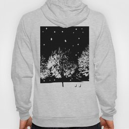 Black and White winter Hoody