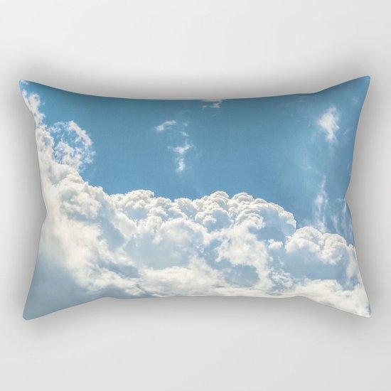 Floating on Air Rectangular Pillow