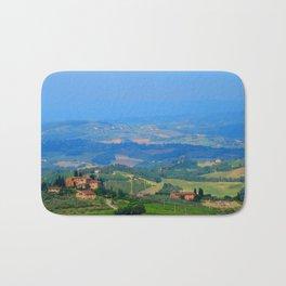 Hills of Tuscany Bath Mat