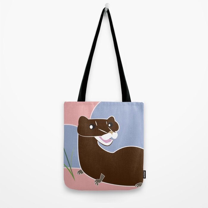 Save the european mink (FIEB) Tote Bag