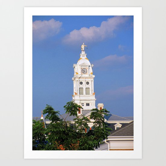 Henry County Courthouse (I) Art Print