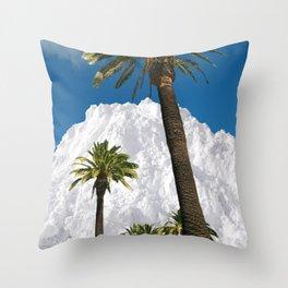 Powder / Tree / Smoke. Throw Pillow