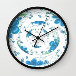 Butterfly Menagerie Wall Clock