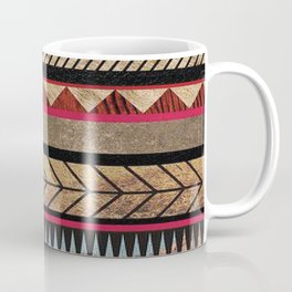 African Tribal Pattern No. 125 Coffee Mug