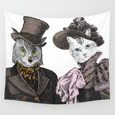 The Owl and the Pussycat Wall Tapestry