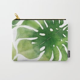 Monstera watercolor I Carry-All Pouch